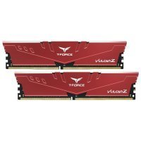 Team T-Force Vulcan Z 16GB (2x8GB) DDR4 3000MHz CL16 Kırmızı Gaming Ram - TLZRD416G3000HC16CDC01