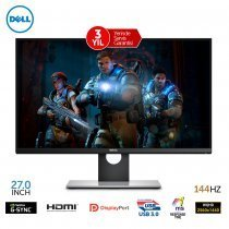 "Dell S2716DG 27"" 1ms 144Hz G-Sync QHD Gaming Monitör"