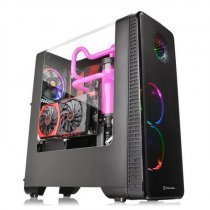 Thermaltake View 28 RGB Riing Edition CA-1H2-00M1WN-01 Pencereli ATX Mid-Tower Siyah Gaming Kasa