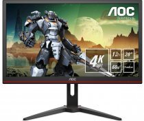 "AOC G2868PQU 28"" 1ms 60Hz HDMI/DP/VGA TN Gaming Monitör"