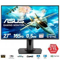 "Asus VG278QR 0.5ms HDMI DVI DisplayPort 27"" Full HD FreeSync ve G-Sync Uyumlu Gaming (Oyuncu) Monitör"