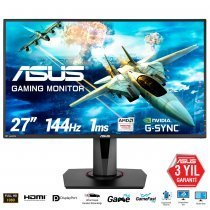 "Asus VG278Q 1ms 144hz Free-Sync Hoparlör 27"" Full Hd FreeSync ve G-Sync Uyumlu Gaming Monitör"