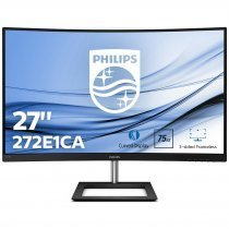 "Philips 272E1CA/01 27"" Full HD 4ms 75Hz VGA HDMI DP Curved (Kavisli) Monitör"
