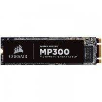 Corsair Force MP300 480GB 1600/1040MB/s M.2 NVMe PCIe SSD Disk - CSSD-F480GBMP300