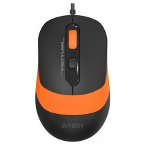 A4 Tech FM10 1600DPI 4 Tuş Optik Kablolu Turuncu Mouse