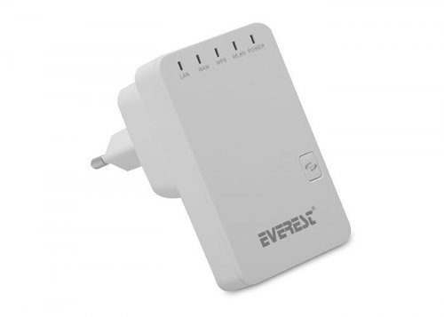 Everest EWR-523N2 N Multi-Function 300Mbps Repeater+Access+Point+Bridge+Client Router