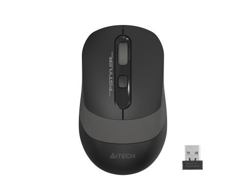 A4 Tech FG10 2000 DPI USB Optik Kablosuz Gri Mouse