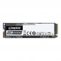 Kingston KC2000 250GB 3000/1100MB/s M.2 SSD Disk - SKC2000M8/250G