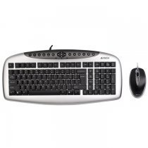 A4 Tech KB-2103D Q PS/2 Kablolu Klavye Mouse Seti