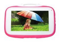 "Everest Everpad SC-735 Happy Kids 16GB 7"" Pembe Tablet - 2 Yıl İthalatçı Firma Garantili"
