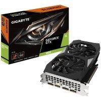 Gigabyte GV-N1660OC-6GD GeForce GTX 1660 6GB GDDR5 192Bit DX12 Gaming Ekran Kartı