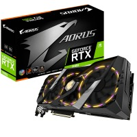 Gigabyte GV-N2080AORUS-8GC GeForce RTX 2080 8GB GDDR6 256Bit DX12 Gaming Ekran Kartı