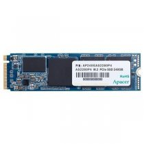 Apacer AS2280P4 240GB 1600/1000MB/s PCIe M.2 SSD Disk - AP240GAS2280P4-1