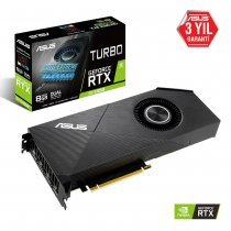 Asus Turbo-RTX2070S-8G-EVO GeForce RTX 2070 Super 8GB GDDR6 256Bit DX12 Gaming Ekran Kartı