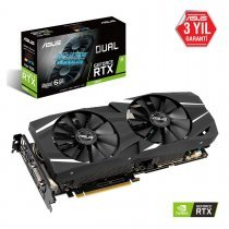 Asus Dual-RTX2060-A6G GeForce RTX 2060 6GB GDDR6 DX12 Gaming Ekran Kartı
