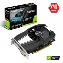 Asus PH-GTX1660-O6G Phoenix GeForce GTX 1660 6GB GDDR5 192Bit DX12 Gaming Ekran Kartı