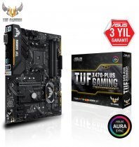 Asus Tuf X470-Plus Gaming AMD X470 Soket AM4 DDR4 3466(OC)MHz ATX Gaming Anakart
