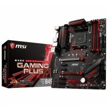 MSI B450 Gaming Plus AMD B450 Soket AM4 DDR4 3466(OC)MHz ATX Gaming Anakart