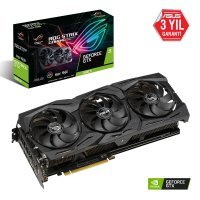 Asus Rog-Strix-GTX1660Ti-A6G-Gaming GeForce GTX 1660 Ti 6GB GDDR6 192Bit DX12 Gaming Ekran Kartı