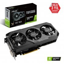Asus TUF3-GTX1660Ti-O6G-Gaming GeForce GTX 1660 Ti 6GB GDDR6 192Bit DX12 Gaming Ekran Kartı