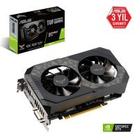 Asus TUF-GTX1660Ti-O6G-Gaming GeForce GTX 1660 Ti 6GB GDDR6 192Bit DX12 Gaming Ekran Kartı