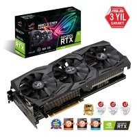 Asus ROG-Strix-RTX2060-6G-Gaming GeForce RTX 2060 6GB GDDR6 192Bit DX12 Gaming Ekran Kartı