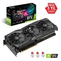 Asus ROG-Strix-RTX2070-A8G-Gaming GeForce RTX 2070 8GB GDDR6 256Bit DX12 Gaming Ekran Kartı