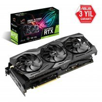 Asus GeForce Strix-RTX2080Ti-11G-GAMING RTX 2080 Ti 11GB GDDR6 352Bit DX12 Gaming(Oyuncu) Ekran Kartı