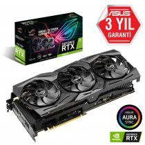 Asus ROG-Strix-RTX2080TI-A11G-Gaming GeForce RTX 2080 Ti 11GB GDDR6 352Bit DX12 Gaming Ekran Kartı