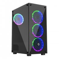 Frisby Gamemax FC-9290G 400W (4x D.Ring) Midi Tower Gaming ATX Kasa