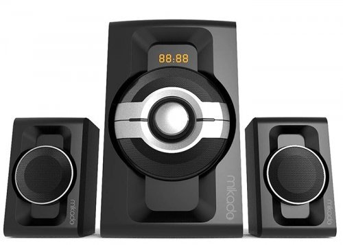 Mikado MD-854BT 2+1 USB+SD+FM Destekli Bluetooth Speaker