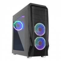 Frisby FC-9050G Gamemax Midi Tower Kasa (Dual-Ring 5 Renk Fan)