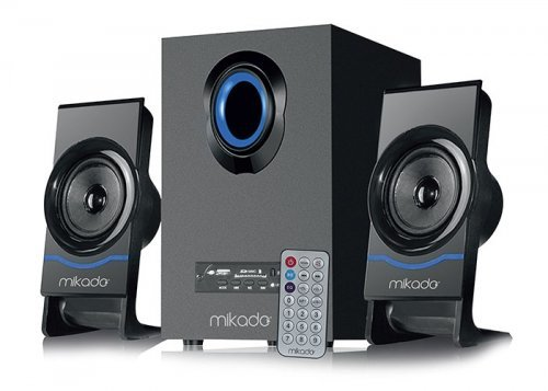 Mikado MD-1700BT 2+1 16W Usb+SD+Fm+Bluetooth Destekli Siyah Speaker