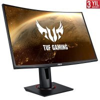 "Asus TUF Gaming VG27VQ 27"" 165Hz 1ms ELMB Flicker-Free VA Full HD Curved Pivot Gaming Monitör"