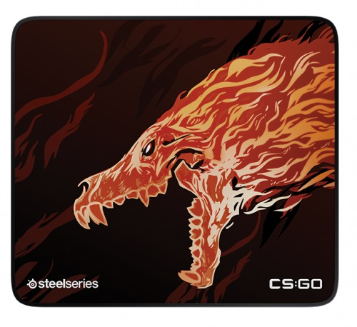 SteelSeries QcK+ Limited CS:GO Howl Edition 63403 Gaming Mouse Pad