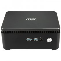 MSI Cubi 3 Silent S-051XTR Intel Core i3-7100U 2.40GHz 8GB 256GB SSD OB FreeDOS Siyah Mini PC