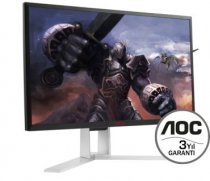 "AOC Agon AG241QX 23.8"" 2K QHD 144Hz 1ms (Display+DVI-D+HDMI+Analog) FreeSync Gaming (Oyuncu) Monitör"