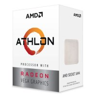 AMD Athlon 3000G 3.5GHz 2/4 Soket AM4 5MB Vega 3 GPU 14nm 35W İşlemci