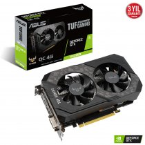 Asus TUF-GTX1650S-O4G-Gaming GeForce GTX 1650 Super 4GB GDDR6 128Bit DX12 Gaming Ekran Kartı