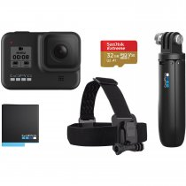 GoPro Hero8 Black Aksiyon Kamerası + Holiday Bundle Seti - 5GPR/CHDRB-801