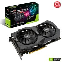 Asus ROG-Strix-GTX1650S-4G-Gaming GeForce GTX 1650 Super 4GB GDDR6 128Bit DX12 Gaming Ekran Kartı