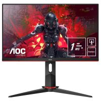 "AOC 24G2U5/BK 23.8"" 1ms 75Hz FreeSync WLED IPS Full HD Pivot Gaming Monitör"