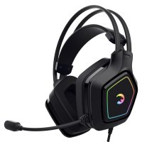 GamePower Mihawk Siyah 7.1 Surround RGB Gaming Kulaklık
