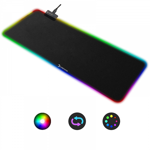 gamepower gp700 rgb gaming kumaş mousepad