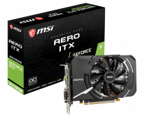 MSI GeForce GTX 1660 Super Aero ITX OC 6GB GDDR6 192Bit DX12 Gaming (Oyuncu) Ekran Kartı