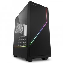 Sharkoon RGB Flow ARGB USB 3.0 Temperli Cam ATX Mid-Tower Gaming Kasa