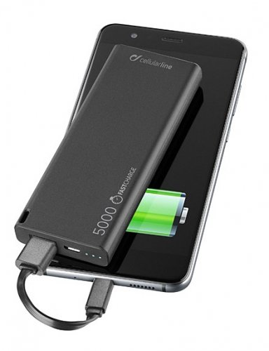 Cellularline Slim 5000 mAh Powerbank