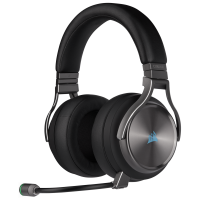 Corsair Virtuoso RGB Wireless SE Gunmetal CA-9011180-EU Mikrofonlu 7.1 Surround Kablosuz Gaming Kulaklık