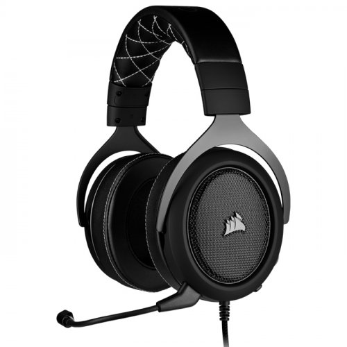 Corsair HS60 Pro Surround Karbon CA-9011213-EU 7.1 Surround Mikrofonlu Kablolu Gaming Kulaklık