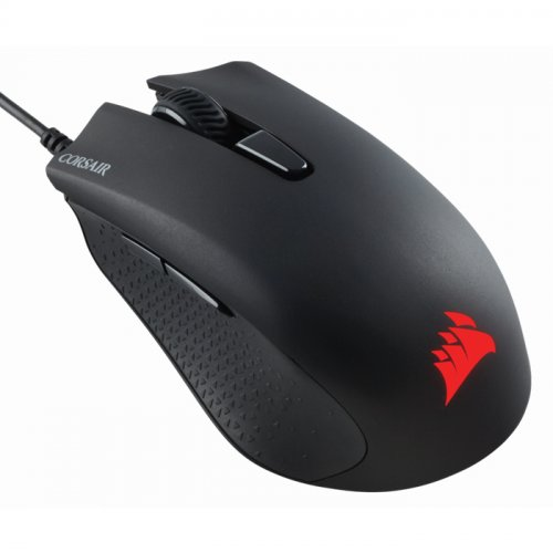 Corsair Harpoon RGB Pro CH-9301111-EU FPS/MOBA 12.000 DPI 6 Tuş Optik USB Kablolu Siyah Gaming Mouse